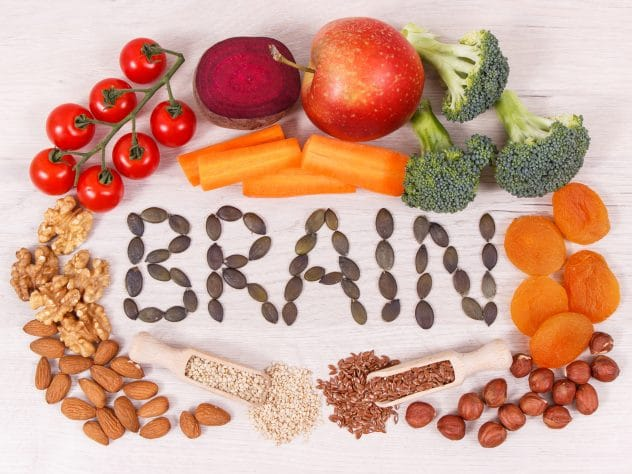 EFFECT OF FOOD ON FUNCTIONING OF BRAIN