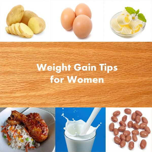 TIPS TO FOLLOW TO GAIN WEIGHT BY WOMEN