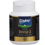 Fitday Omega 3 Softgels (60 capsules)_Front